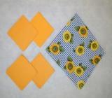 Prostírání - slunečnice